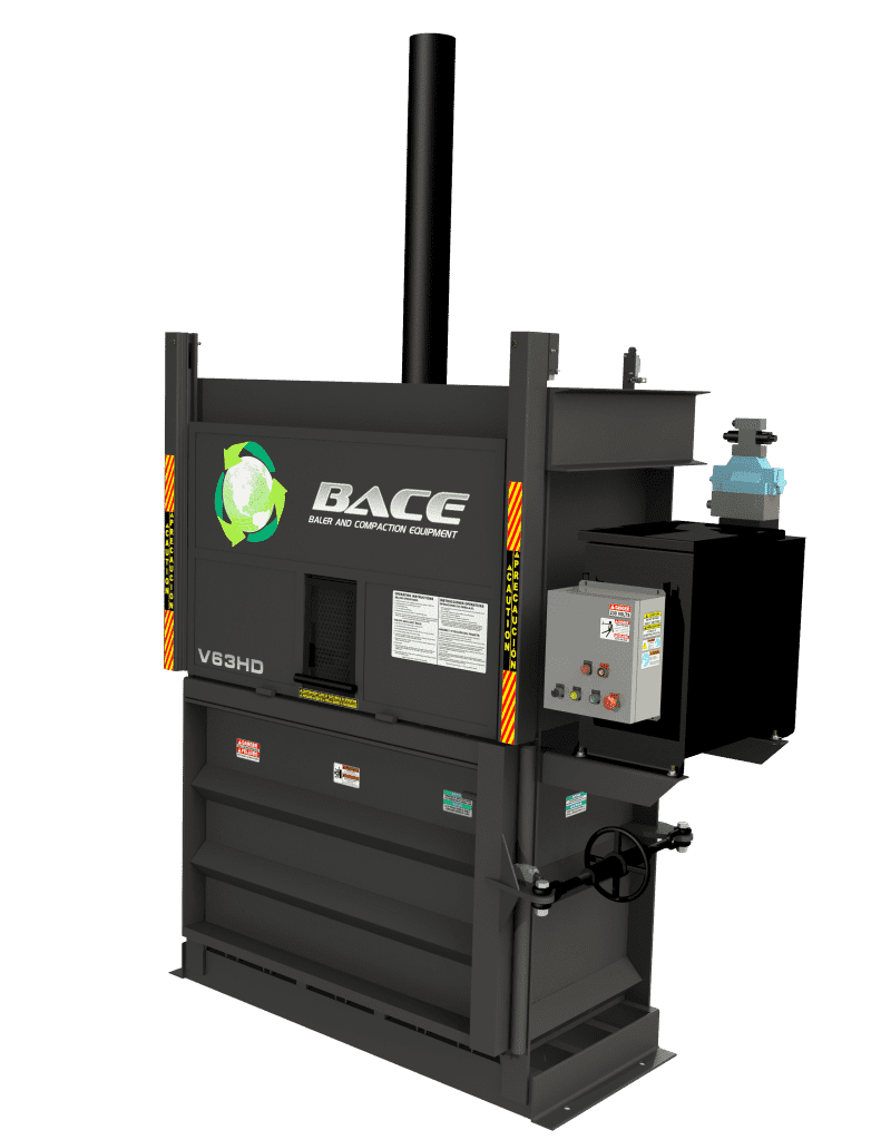 BACE: Vertical Baler V63HD