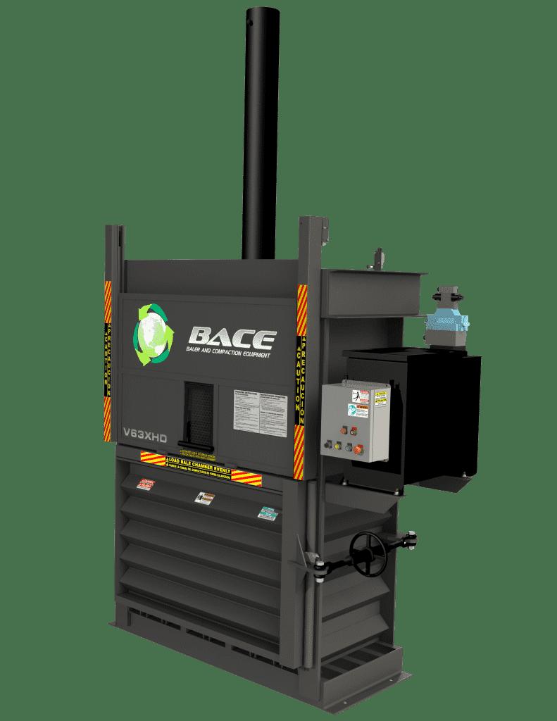BACE: Vertical Baler V63XHD